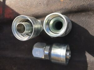 WEATHERHEAD 12Z-612 Hydraulic Hose Crimp Fitting, Qty 1-50 Available, Free Ship