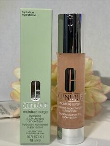 Clinique Moisture Surge Hydrating Supercharged Concentrate Full Size 1.6oz NIB