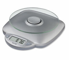 Taylor Digital Compact Kitchen Food Scale Glass Platform 11lb / 5kg Weight Limit