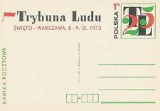 Poland prepaid postcard (Cp 578) press TRYBUNA LUDU