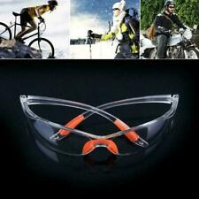 Safety Vented Goggles Glasses Eye Protection Protective Anti Clear Lab Fog V9Q9