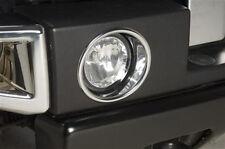 New PUTCO Chrome Fog Lamp Rings / FITS 2005-2010 HUMMER H3