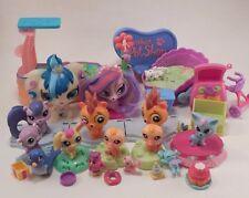 Large Littlest Pet Shop Lot Leapin' Lagoon Sign McDonalds Toys & Miscellaneous