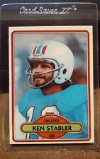1980 Topps #65 Ken Stabler Houston Oilers HOF Quarterback NM/MT