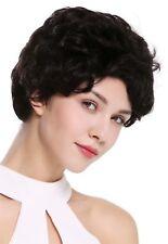 Wig me Up peluca mujer hombre cabello natural corto ondulado de moda negro