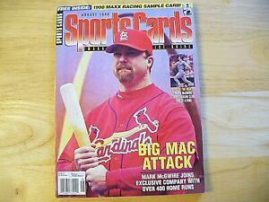 Sports Cards Magazine - August 1998 - Mark McGwire - VINTAGE