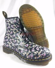 New Dr Martens 1460 W Sz 11 Floral 8-eye Boot Air Black 11 Womens Flower 9 UK