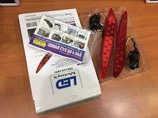 LED Rear Bumper Reflector Light Lamp Set for 2011-2013 Elantra Avante MD