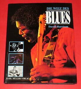 Die Welt des Blues - David Harrison -- Geb. Buch