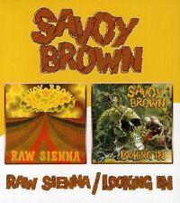 SAVOY BROWN - RAW SIENNA/LOOKING IN  CD NEU
