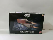 BANDAI Star Wars A-Wing Starfigter 1/72 Scale Figure Plastic Model Kit NIB