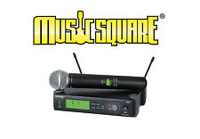 Shure SLX24-SM58 Wireless Microphone System G4 Handheld Free Expedited Shipping!
