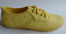 Gravis yellow SHOES UK 5 New trainers spots cool hip casual