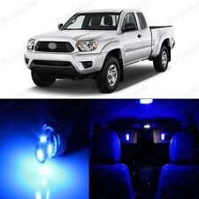 11 x Blue LED Interior Lights Package For 2005 - 2015 Toyota Tacoma + PRY TOOL