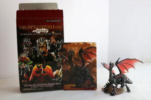 Final Fantasy CREATURES Archive Chromium 48. FAFNIR Mini Trading Figure Color