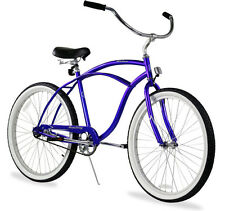 "26"" Men Beach Cruiser Bicycle Bike Firmstrong Urban Royal Blue"