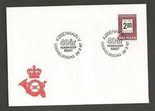 DENMARK -1987 The 40th Anniversary of Danish Consumer Council - FIRST DAY COVER.