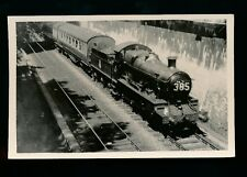 Railway Somerset BATH railway loco #5367 with train 1953 photo