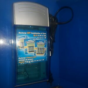Rayovac Universal Battery Charger Rechargeable NiCD Alkaline NiMH Model PS3