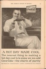 Ad Coca Cola - The American Review of Reviews - September 1925 - Almost Complete
