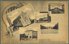 Emilia Romagna. BORGO PANIGALE, Bologna. Cartolina d'epoca, circa  1943.