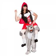 Carry Me Riding Hood Wolf Huckepack Kostüm