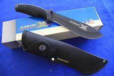 SCHRADE XT1B - BUSH CAMP SURVIVAL KNIFE - MADE IN US - NIB