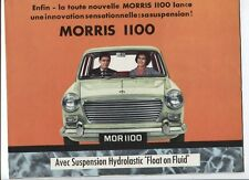 N°2735/ dépliant MORRIS 1100 à suspension hydrolastique