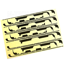 NEW 5 X IPAD MINI 3M BLACK ADHESIVE STICKY TAPE FOR TOUCH DIGITISER SCREEN