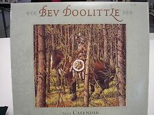 BEV DOOLITTLE 2007 CALENDAR MINT ESCAPE BY HARE BUGGED BEAR EAGLE 12 ART PRINTS