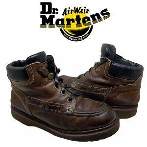 Vintage Dr. Martens Docs 8460 Sz UK 9 US 10 Brown Ankle Boots Made in England
