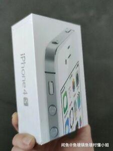 Apple iPhone 4s - 8GB - Black/white (Unlocked) A1387 (CDMA + GSM) IOS6 Sealed