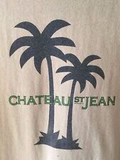 Chateau St. Jean Sonoma County California Tee Shirt Men's Size Large