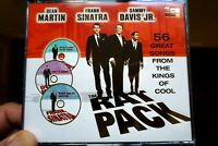 The Rat Pack - 56 Great Songs From The Kings Of Cool  -  CD, VG
