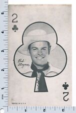 Bob Wagner Card Exhibit Arcade Trade Card Western Aces Cowboy
