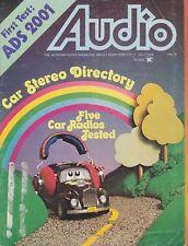 Audio Magazine Jul 1975Sherwood 7210,ADS 2001,Pioneer KP-301,Panasonic CQ-999