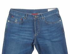 Brunello Cucinelli Slim Fit Medium Wash Cotton Jeans US 36 ITALY 52 NEW B175