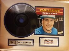 2015 Donruss Americana #7 Vanilla Ice - Ice Ice Baby Certified Silver Singles