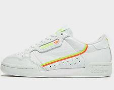 Adidas Originals Continental 80 Women (UK Sizes: 4.5 / 6 / 6.5) Triple White NEW