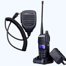 BaoFeng UV-82 Tri-Power 8W 4W 1W Dual-Band UHF Two Way Radio Walkie Talkie + Mic