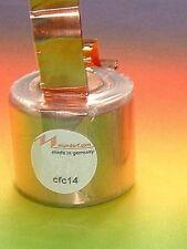 1 x MUNDORF CFC14 0,68mh Mcoil  Kupfer Spule crossover High end copper foil coil