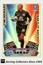 2011-12 Topps Match Attax Card Man Of Match Foil 376 Tim Howard