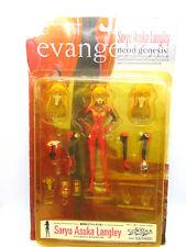 Evangelion Soryu Asuka Langley Anime Figure Neon Genesis - Rare Has Box Issues