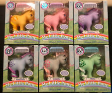 My Little Pony ORIGINAL 1983 COLLECTION 35TH ANNIVERSARY FIGURES SET MINTY BELLE
