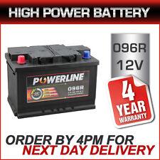 096R Powerline Car Battery 12V fits many Chrysler Jeep Nissan Vauxhall 086