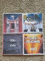 4 DISCOS DE SALSA CLASICA. FORMATO MP3. 570 CANCIONES EN TOTAL.INCLUYE LISTAS