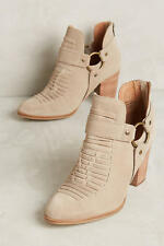 ANTHROPOLOGIE SHOES SEYCHELLES IMPOSSIBLE BOOTIES 8.5 HARNESS ANKLE BOOT $160
