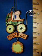 Hunting Ornament Baby in Camo Stroller Future Hunter 8420 50