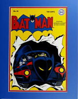 BATMAN COMICS #20 COVER PRINT Professionally Matted DC Batmobile
