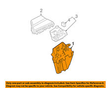 Cadillac GM OEM 03-07 CTS-Electrical Fuse & Relay Box 25706727